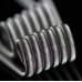 Fused Clapton SS316L (SS316L 26AWG * 2 + NR 38AWG) - 25 cm
